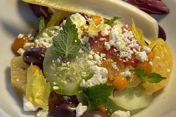 Spring Cucumber & Citrus Salad